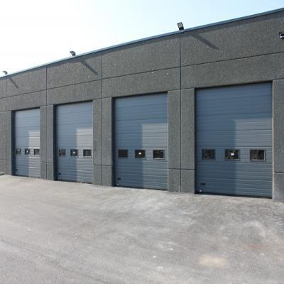 Poids maximum z12 2200 kg z16 1600 kg - Porte de garage sectionnelle grise ...